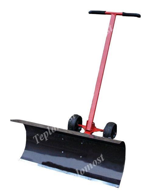 Роторная насадка к мотоблоку для уборки снега
